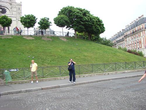 Colin devant Sacre Coeur