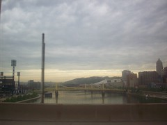 it was beautiful out there (adrianna.) Tags: water pittsburgh bridges pennyslvania
