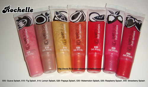 My covergirl wetslicks fruit spritzers lipgloss collections. - a photo ...