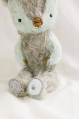 (+yooko+) Tags: bear stuffedtoy animal stuffed teddy plush teddybear stuffedanimal handsewn etsy artistbear 50mmf14s