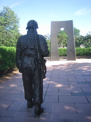 Minnesota Korean War Memorial by Art Norby