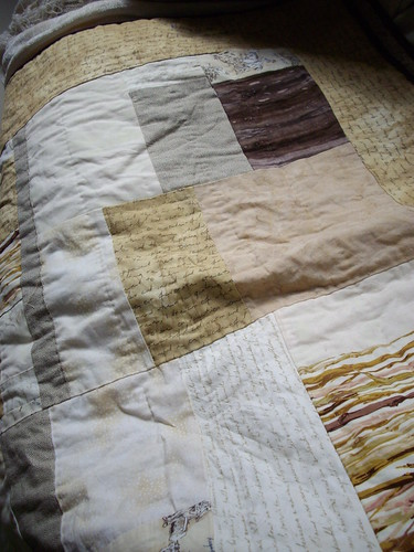 lines of handquilting