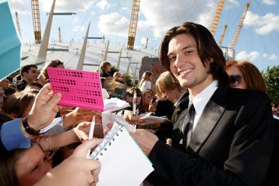 ben barnes signing by Jess Doll