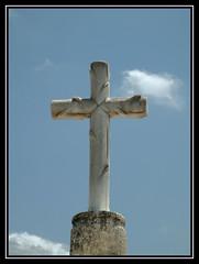 Stone cross Fortuna Spain (Ron in Blackpool) Tags: spain ron curtis roninblackpool roncurtis