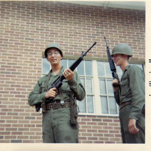 Dad as a soldier
