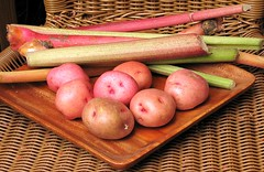 Potatoes and Rhubarb