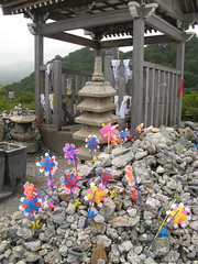 Pinwheels at the shrine
