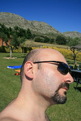 My right side (Marco40134) Tags: selfportrait sunglasses goatee spain baldmen