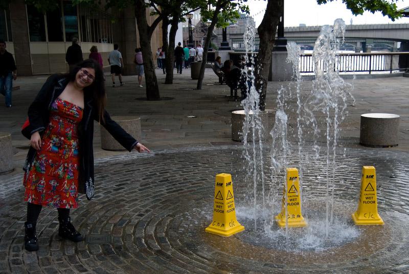 Silly fountain