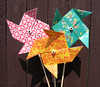 Origami Pinwheels That Really Spin!