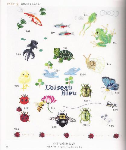 Embroidery one-point stitch hajimete no shishiyuu wampointo sutetsuchi 500 wan pointo asahi orijinaru ASAHI ORIGINAL ISBN 9784021904097 img 2