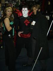 (BelleChere) Tags: costume cosplay rogue gambit wizardworld wizardworldchicago mistersinister