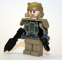 Halo 3 Marine (Chase Lewis [Vid]) Tags: 3 soldier marine lego chief halo master figure decal minifig custom masterchief spartan halo3 unsc brickarms foitsop