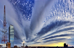 Shelf Cloud (Justin Terveen) Tags: street city sky urban storm cold weather skyline architecture clouds skyscraper buildings grit dallas cityscape texas skyscrapers wind metro front panoramic dfw exploration dart ninjatune swivel shelfcloud justinterveen wwwtheurbanfabriccom theurbanfabric urbanfabricphotography
