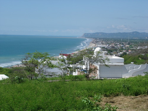 Ecuador-coastal-cliff