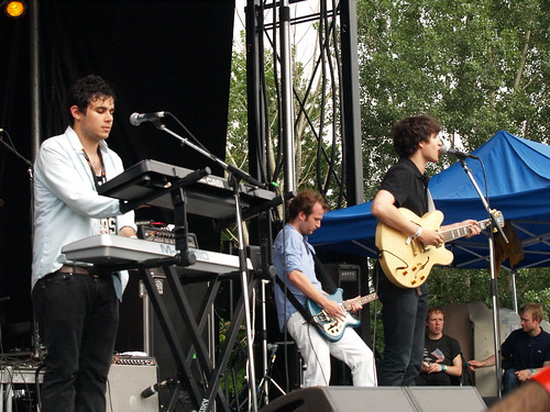 Vampire Weekend @ Pitchfork 2008, Chicago 07/19/08