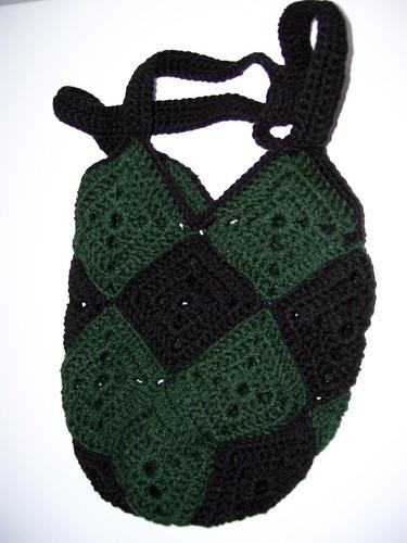 Inga's crocheted bag