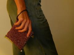 microborsa da sera lam (stranelane) Tags: bag tricot knitting knit purse knitter maglia lam borsina