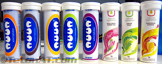 Nuun Flavors