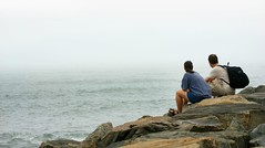 Endless Momento (Lazyousuf) Tags: newyork love couple horizon longisland montauk deadend