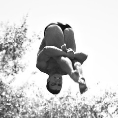 Men's 10m Finals (segamatic) Tags: bw sports rose canon eos action diving center bowl national pasadena championships 2008 aquatics 40d canonef70200mmf4lisusm photofaceoffwinner pfogold