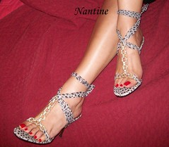 Grey leopard sandals 2 (Kwnstantina) Tags: woman sexy feet cum female foot high women toes highheels arch legs sandals leg arches leopard barefoot heels stiletto soles toering anklet sexylegs strappy rednails longnails heeledsandals sandaltoes redlongnails womaninstiletto