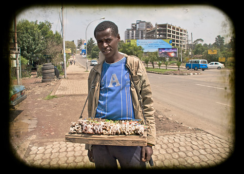 On the streets of Addis