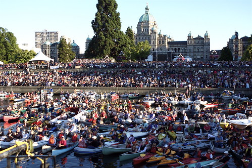 BC Festival 150 Crowds