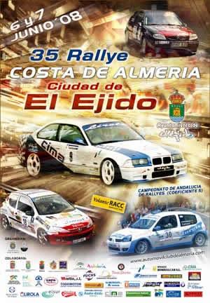 XXXV Rallye Costa de Almería - Ciudad de El Ejido 2008