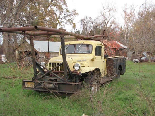 truck dodge oldtrucks dodgepowerwagon outtopasture