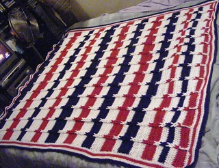 Ravelry Jacob S Ladder Afghan Pattern By Bev S Country