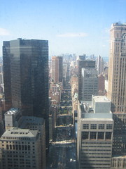 View from 42nd floor of Met-Life Buildling
