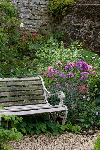 An English Garden, at Broughton Castle