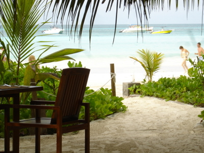Anse Volbert on Praslin (Seychelles)