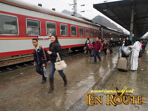 Tongren Incoming Passengers