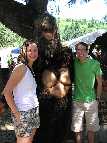 Meeting Bigfoot