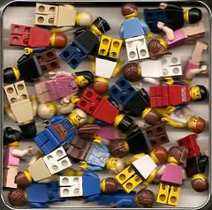 Box of Minifigs