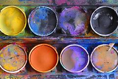 3 ft away, then I moved closer... (Britta's photo world) Tags: blue orange brown black yellow purple watercolour splash britta splashes 60mmf28dmicro niermeyer bej ultimateshot diamondclassphotographe amazingamateur theunforgettablepictures colourartaward artlegacy flickrslegend qualitypixels colorfullaward thegalleryoffinephotography colourmania