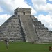 The Kukulkan Temple at Chichen Itza