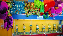 A Carnie's Office (cwgoodroe) Tags: california carnival blue wedding summer santacruz sun color beach water sand surf candy games boardwalk rollercoaster