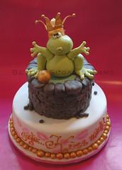 Froggy (Betty´s Sugar Dreams) Tags: frosch torte frogprince froschkönig sugardreamsde bettinaschliephakeburchardt bettyssugardreams froschkönigtorte