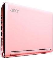 Acer Aspire One Pi,k, rose, lady