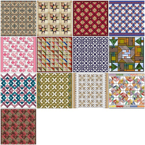 Quilt Patterns from Quilters Cache