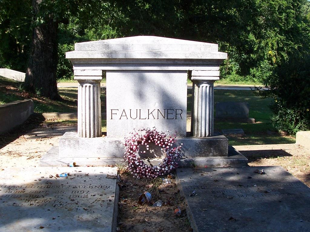 William Faulkner's Gravesite