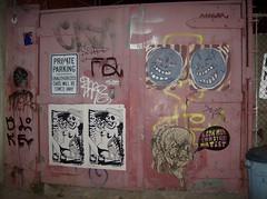 Factory Fresh Alley (Reid Harris Cooper) Tags: streetart brooklyn graffiti wheatpaste roycebannon gaia msg bushwick skewville deeker mattsiren selfer deeks imminentdisaster
