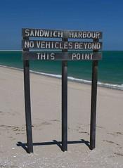 Sandwich Harbour Sign