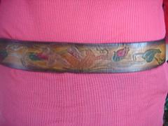 DSC00069 (Violet Folklore) Tags: vintagebelt leatherbelt vintageclothesvintageclothing birdbelt