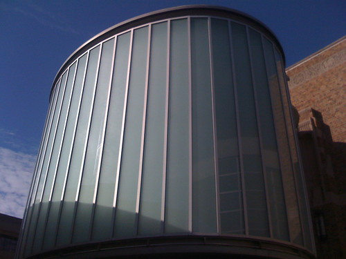 Exterior of the skyspace