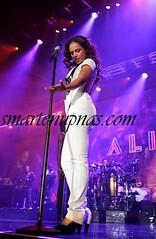alicia keys concert pics