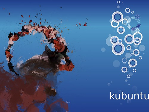 Ubuntu 8.10 Intrepid Ibex Wallpapers - 2bKubuntu bubbles